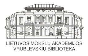 Lietuvos mokslų akademijos Vrublevskių bibliotekos logotipas